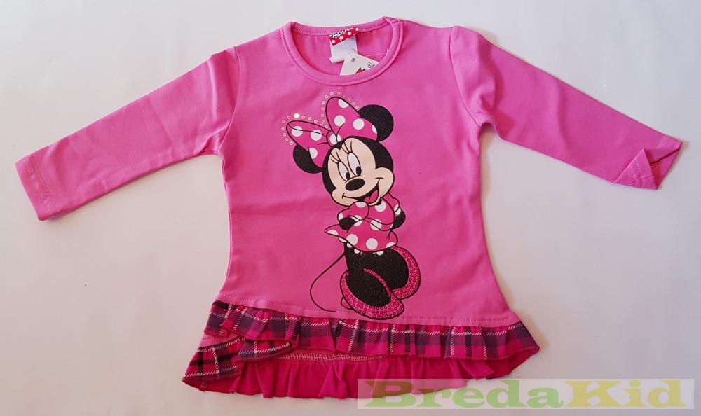 Disney Minnie Hosszú Ujjú Bolyhos Tunika (Rózsaszín 70198be8d6