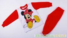 Disney Minnie Bébi Pizsama (86cm, 1-1,5 év, Piros) UTOLSÓ DARAB