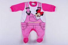 Disney Minnie Bébi Vékony Egybe Rugdalózó (Kantáros)(80cm, 1 év) UTOLSÓ DARAB