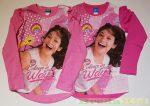 Disney Soy Luna Hosszú Ujjú Póló (Rózsaszín, Pink)(Húzott Vállú)