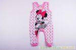 Disney Minnie Bébi Ujjatlan Rugdalózó (Pöttyös)