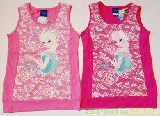 Disney Jégvarázs Csipkés Hatású Trikó (Szürke, Rózsaszín, Mályva, Pink)