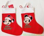 Disney Minnie Textil Mikulás Csizma
