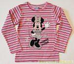 Disney Minnie Csíkos Pulóver
