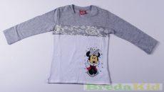 Disney Minnie Csipkés Hatású Hosszú Ujjú Póló UTOLSÓ DARABOK