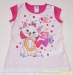 Disney Marie Cica Rövid Ujjú Póló (Rózsaszín, Pink)
