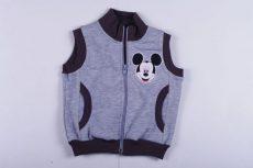 Disney Mickey Bolyhos Pamut Mellény (Szürke, Sárga, Sötétkék)