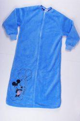 Disney Mickey Wellsoft Egybe Hálózsák (80/86cm, 92/98cm, 104/110cm, Kék) UTOLSÓ DARABOK