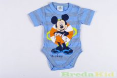Disney Mickey Bébi Rövid Ujjú Body (Csíkos)(56cm, 62cm, 74cm) UTOLSÓ DARABOK