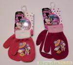 Disney Minnie Egyujjas Kötött Kesztyű (Rózsaszín/Krém, Lila/Rózsaszín) UTOLSÓ DARABOK