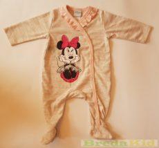 Disney Minnie Bébi Egybe Rugdalózó (Csikos)(62cm, 68cm, 74cm, Barack) UTOLSÓ DARABOK