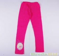 Disney Jégvarázs Leggings (Pink-Fehér Pöttyös)(98cm, 2 év) UTOLSÓ DARAB
