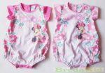 Disney Minnie Bébi Ujjatlan Napozó (Virágmintás)(Pink, Rózsaszín)