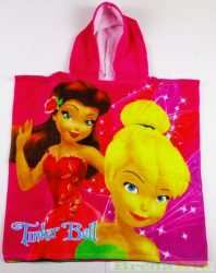 Disney Csingiling Poncsó (2-7 éves korig)(60X120cm)(Pink) UTOLSÓ DARAB