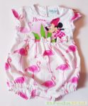 Disney Minnie Bébi Ujjatlan Napozó (Flamingós)(56cm, 0-3 hó) UTOLSÓ DARAB