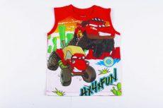 Disney Verda Bébi Széles Pántú Trikó (92cm, 1,5-2 év, Piros) UTOLSÓ DARAB