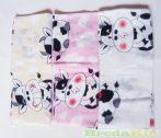 Mintás Textilpelenka (Tehenes)(Fehér) UTOLSÓ DARABOK