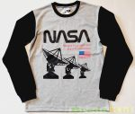 Fiú NASA Mintás Hosszú Ujjú Póló