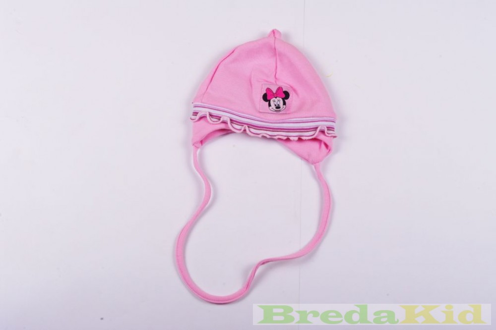 Disney Minnie Baby Napped Cotton Hat With Strings - BredaKid ... 9ec876923e