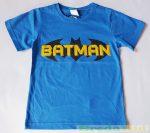 Batman Rövid Ujjú Póló (Szürke, Kék)(104cm, 110cm) UTOLSÓ DARABOK
