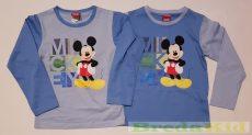 Disney Mickey Hosszú Ujjú Póló (VilágosKék, Középkék)