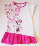 Disney Minnie Rövid Ujjú Ruha (Virágos)
