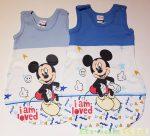 Disney Mickey Bébi Ujjatlan Vékony Hálózsák ( I am Loved)(Világoskék, Középkék, Szürke)