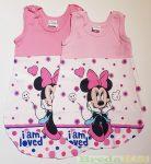 Disney Minnie Bébi Ujjatlan Vékony Hálózsák (I am Loved)(Rózsaszín, Pink, Szürke)