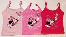 Disney Minnie Spagetti Pántos Trikó (104cm, 3 év, Pink) UTOLSÓ DARAB