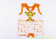 Disney Tigris (Micimackó) Bébi Unisex Ujjatlan Napozó (62cm, 3 hó, Narancssárga) UTOLSÓ DARAB
