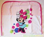 Disney Minnie Pamut Takaró (70X90cm)(Fehér, Világos rózsaszín)