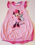 Disney Minnie Bébi Rövid Ujjú Napozó (Nyuszis)(Fehér/Rózsa, Rózsa/Pink)