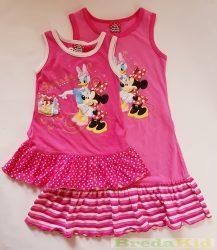 Disney Minnie és Daisy Kacsa Ujjatlan Nyári Ruha (86cm, 122cm, 128cm) UTOLSÓ DARABOK