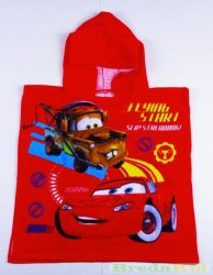 Disney Verda Bébi Poncsó (1-2 éves korig)(50X100cm)(Piros, Kék) UTOLSÓ DARABOK