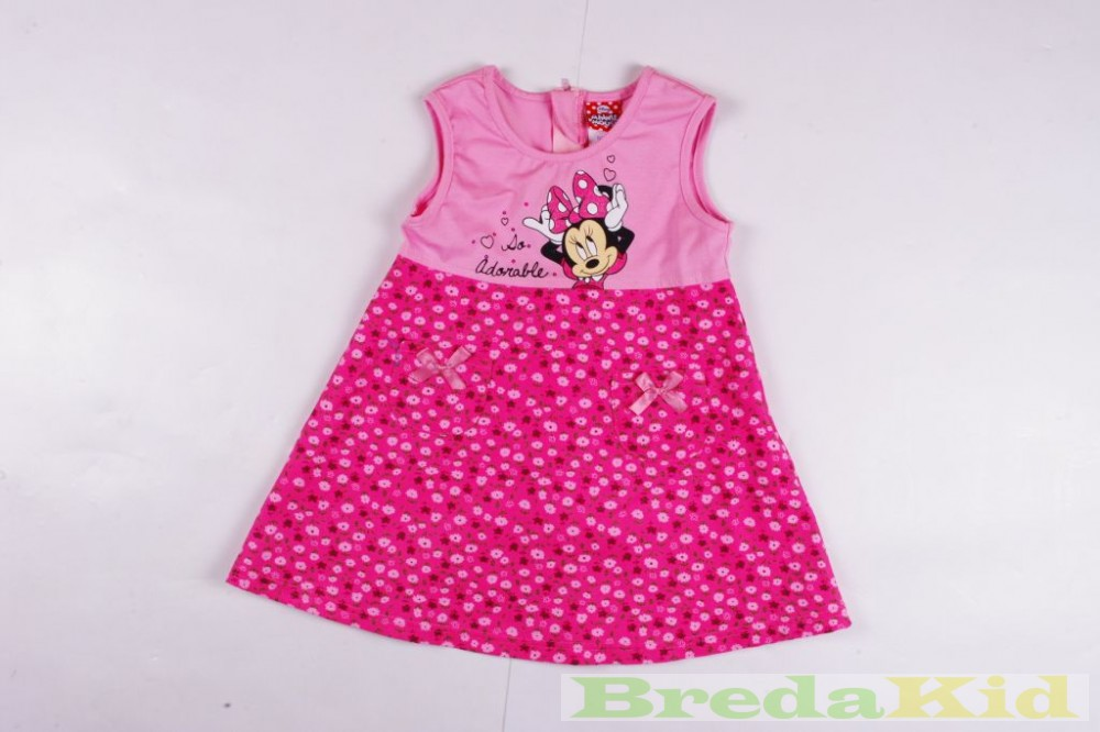 Disney Minnie Bébi Ujjatlan Virágmintás Kord Ruha (68cm 18d30ee47c