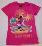 Disney Minnie Rövid Ujjú Póló (Szürke, Pink)