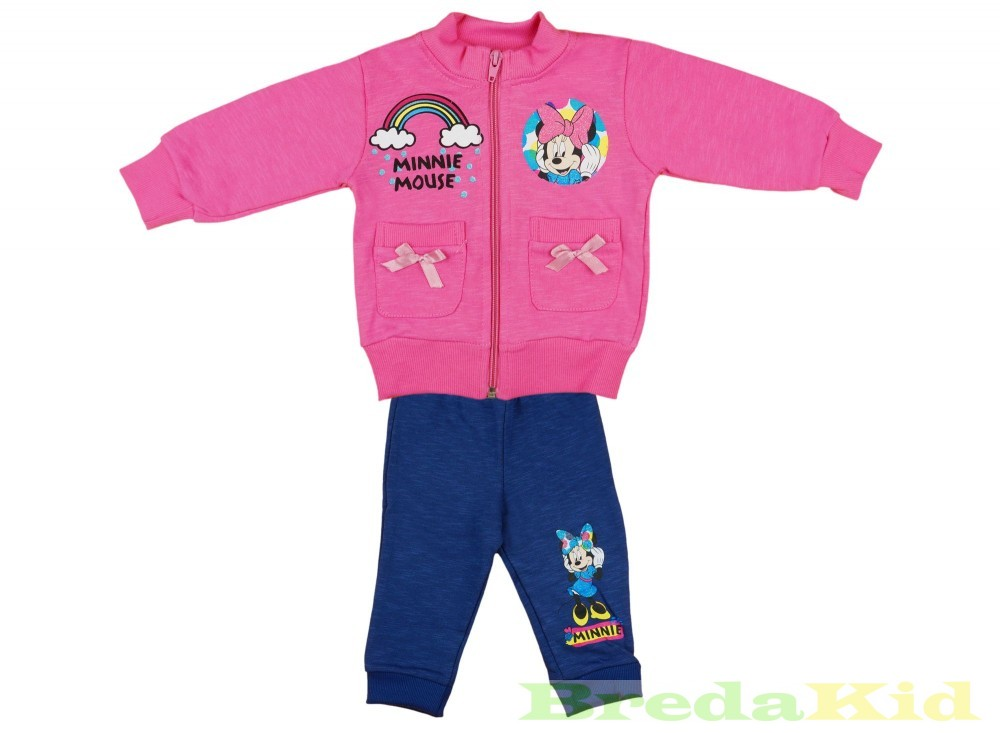 28c0628c51 Disney Minnie Vékony Szabadidő (Pink/Kék) - BredaKid Gyerekruha ...