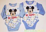 Disney Mickey Langarmelige Body (Stern)