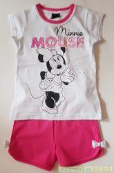 Disney Minnie Együttes (Fehér/Pink)