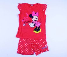 Disney Minnie Rövid Pizsama / Együttes (134cm, 8 év, Pink) UTOLSÓ DARAB