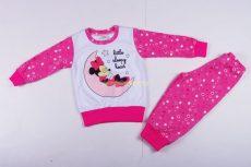 Disney Minnie Pizsama (Karikás)(80cm, 86cm, 92cm, 110cm)(Szürke, Rózsaszín)