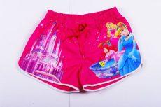 Disney Hercegnő Selymes Rövidnadrág (128cm, 134cm, Pink) UTOLSÓ DARABOK