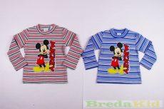 Disney Mickey Bolyhos Pulóver (Csíkos)