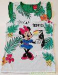 Disney Minnie Trikó (Zöld, Pink, Fehér)(Tukán Madár Mintás)