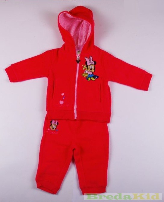 Disney Minnie Baby Fleece Jogging Suit (80cm ad014e3881