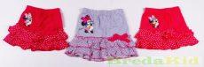 Disney Minnie Pamut (Pöttyös Fodros) Szoknya