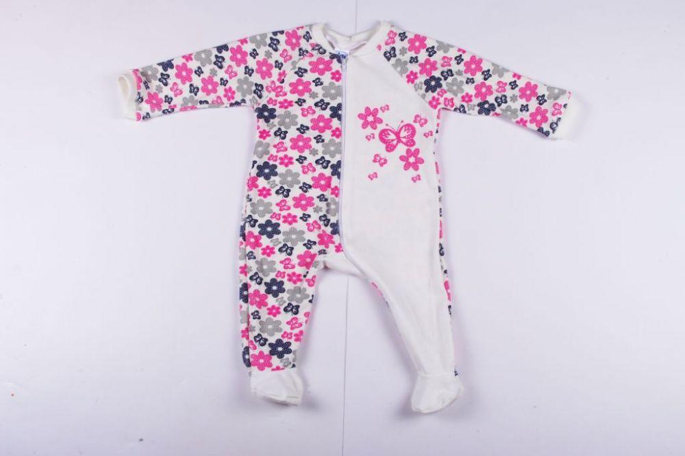 Girl Flowers Overal Pyjamas   Baby Rompers - BredaKid Gyerekruha ... bf5a699af5