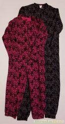 Monster High Bolyhos Overál Pizsama (Pink/Fekete, Fekete, Szines Mintás) UTOLSÓ DARABOK