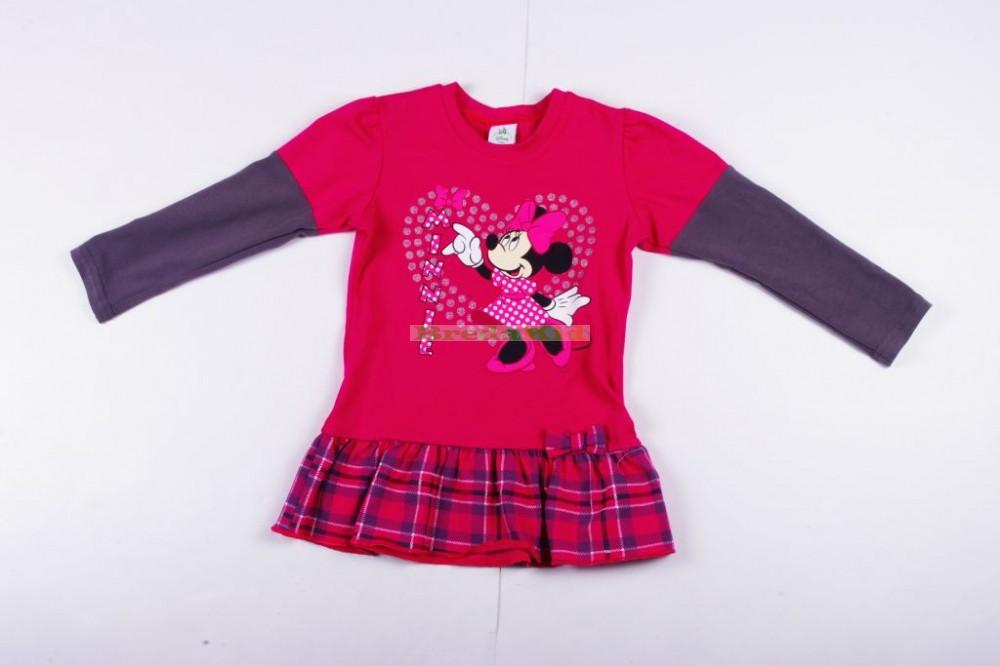 Disney Minnie Bolyhos Hosszú Ujjú Tunika (62cm fc0f56ecf6