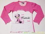 Disney Minnie Hosszú Ujjú Póló (Pöttyös)